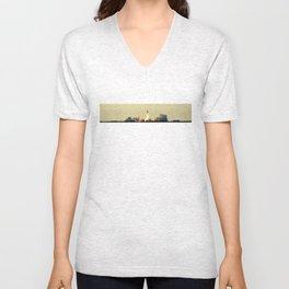 Space Shuttle Atlantis [Version 2]  Unisex V-Neck