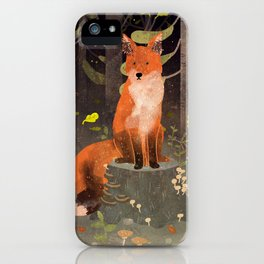 Rotfuchs iPhone Case