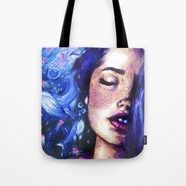 Music of the ocean Tote Bag