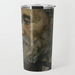Portrait of an Old Man Travel Mug