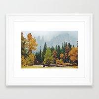 yosemite Framed Art Prints featuring Yosemite by Warren Silveira + Stay Rustic