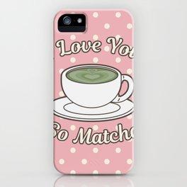 Love Matcha iPhone Case