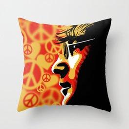 John Lennnon Imagine  Throw Pillow