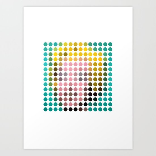 Marilyn Monroe Remixed Art Print