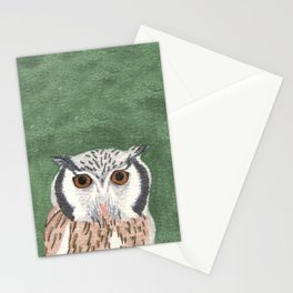 Long Eared Owl Stationery Cards