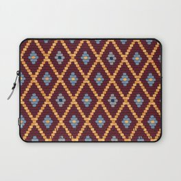 sibiu romania Evangelic cathedral church roof texture Laptop Sleeve