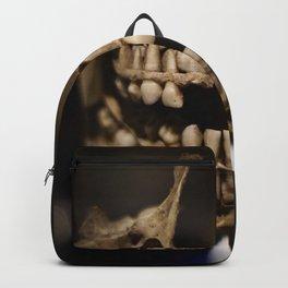 Deformed Human Teeth Backpack