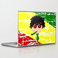 reggae Laptop & iPad Skins featuring Reggae Kazoo by mailboxdisco