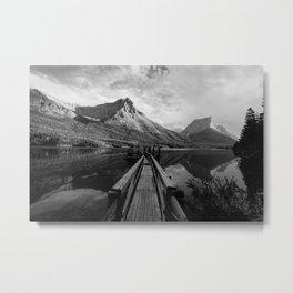 Glacier NP Metal Print