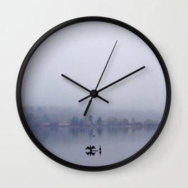 Lake Blues Wall Clock