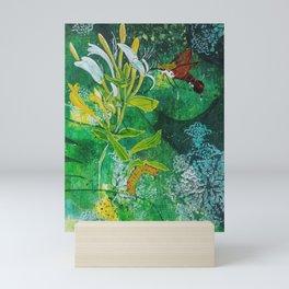 Neither Bird, Nor Bee, Nor Flying Crawfish Mini Art Print