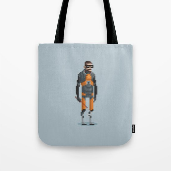 Man With a Crowbar Tote Bag