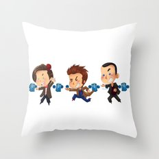 The Doctors! Throw Pillow