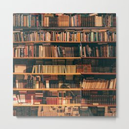 New York City Library Metal Print