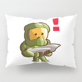 Halo Master Chief Kawaii Pillow Sham