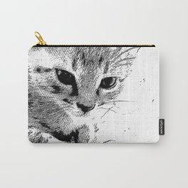 Indifferent Kitten Carry-All Pouch