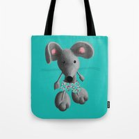 rat Tote Bags featuring Rat by Laurel