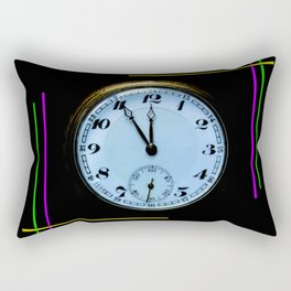 Time is Money Rectangular Pillow