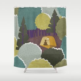 Backwoods Shower Curtain