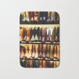 Boots on Boots Bath Mat