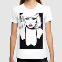 blondie T-shirts featuring Blondie  by Saundra Myles