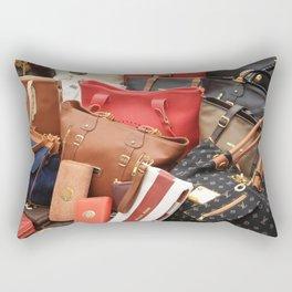 Women's Designer Handbags Rectangular Pillow