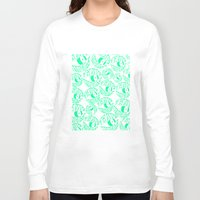 tame impala Long Sleeve T-shirts featuring TAME IMPALA EYES by Queen Lizard