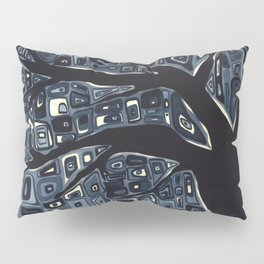 At Dusk: A River or a Tree Pillow Sham