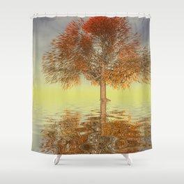 strange light somewhere -21- Shower Curtain