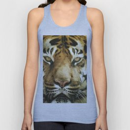 Face of Tiger Unisex Tank Top