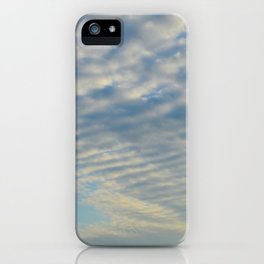 Cirrusly Stratus Waves iPhone Case