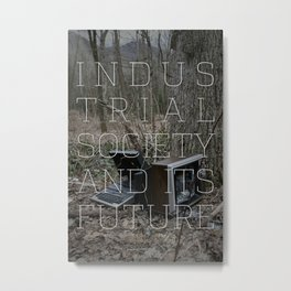 Technological Slavery Metal Print
