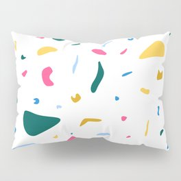 Terrazzo Magenta Pillow Sham