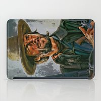 clint barton iPad Cases featuring  Clint Eastwood by andy551
