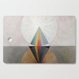 Hilma af Klint - Group IX/SUW No. 12, The Swan No. 12 Cutting Board