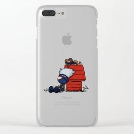 Kakashi Sleepy Clear iPhone Case