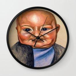 Slight Giggle  Wall Clock