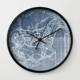 Mechanical Horse Wall Clock