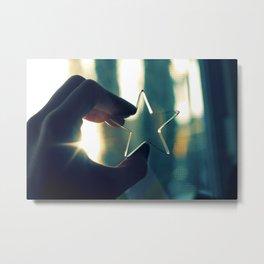 Star! Metal Print