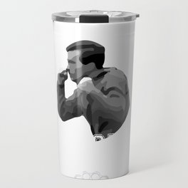 Jerry Mitchell's Boxing Classes | Three O'Clock | At The Parking Lot | High School Gym Design For Me Travel Mug