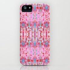 Red Hot Ikat iPhone (5, 5s) Slim Case