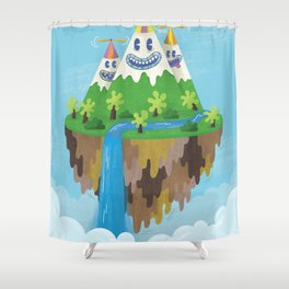 Flight of the Wild Shower Curtain