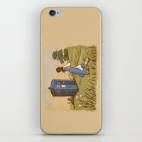 hallion iPhone & iPod Skins featuring Adventure in the Great Wide Somewhere by Karen Hallion Illustrations