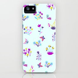 Mod Ditsy Floral iPhone Case