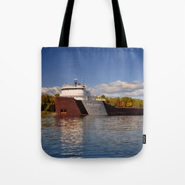 Roger Blough freighter in the Fall Tote Bag