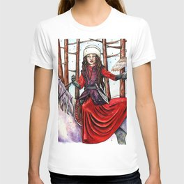 Winter Warrior by DeeDee Draz T-shirt