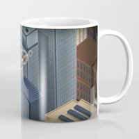 metropolis Mugs featuring Metropolis by Soak