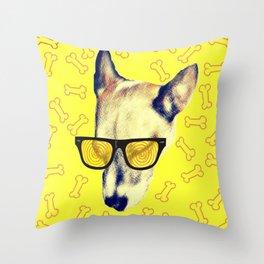 Bone-a-fido Throw Pillow