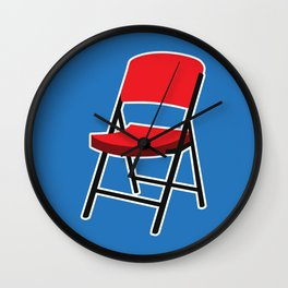 Folding Chair Wall Clock