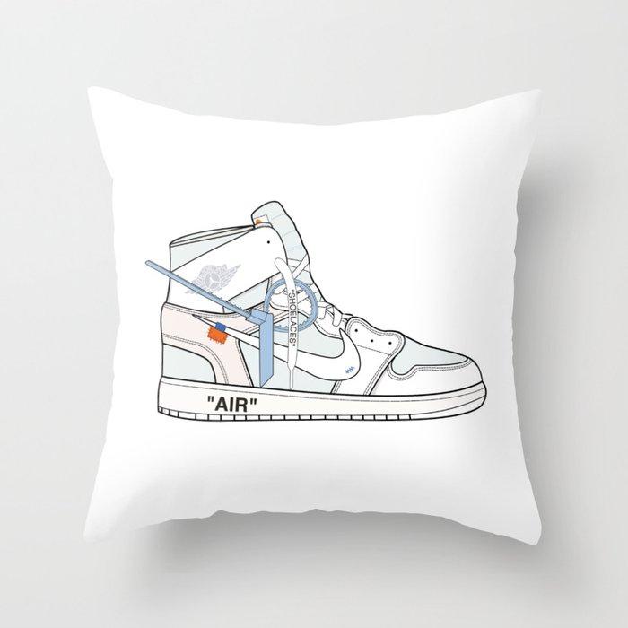 Jordan x Off-White II Throw Pillow
